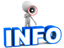 Informação Imagens de Stock Royalty Free