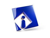 Informação do ícone do conceito Imagem de Stock