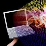 Informação do computador ilustração stock