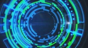 Informação e conceito da tecnologia das comunicações Foto de Stock Royalty Free