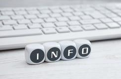 A informação está em toda parte imagens de stock