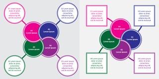 Informação-gráfico Imagens de Stock