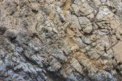 Informação incrível da rocha no nosso grande califórnia Imagem de Stock