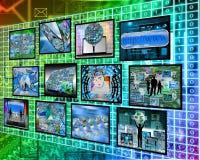 Informação sobre o código binário Imagem de Stock Royalty Free