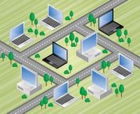 Informação superhiway Imagem de Stock