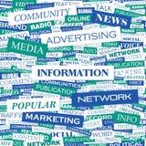 Informações Imagens de Stock