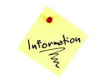 Información Imagenes de archivo