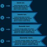 Información bajo la forma de tabla Marco para el texto y la n Imagen de archivo libre de regalías