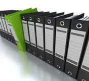 Información de archivaje y de organización Imagen de archivo libre de regalías