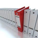 Información de archivaje y de organización Foto de archivo