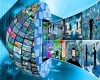 Información del globo Fotografía de archivo libre de regalías