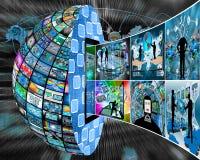 Información del globo Fotos de archivo