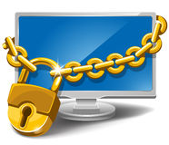 Información segura Imagenes de archivo