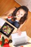 Información vegetariana Fotos de archivo