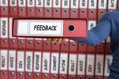 Informacje zwrotne pojęcie Informacje zwrotne ilości opinii usługa Biznesowy Comm Zdjęcia Stock