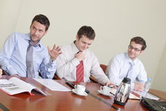 Informal Conference stock photography