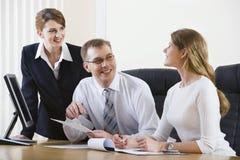 Informal conversation Stock Images