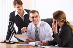 Informal conversation Stock Photo