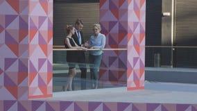 Informal Meeting of Office Workers royalty free stock image