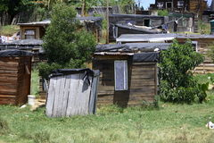 Informal Settlement Royalty Free Stock Images