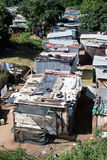 Informal settlement. In Durban, South Africa Royalty Free Stock Image