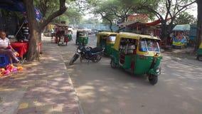 Informal street vendors - India stock video