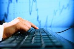 Informação dos dados Imagens de Stock