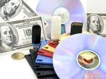 Informatie-geld Royalty-vrije Stock Foto's
