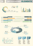 Informatie-grafisch element Royalty-vrije Stock Foto