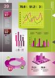 Informatie-grafisch element Royalty-vrije Stock Foto's