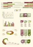 Informatie-grafisch element Royalty-vrije Stock Afbeeldingen