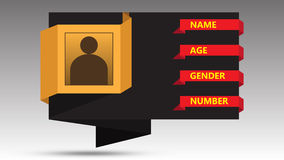 Informatie grafische illustratie Stock Afbeeldingen