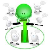 Informatie online stock illustratie