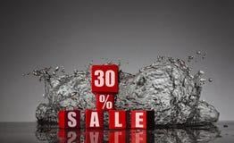 Informatie over de korting aan 30% Royalty-vrije Stock Afbeeldingen