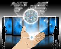 Informatie-uitwisseling Stock Afbeelding