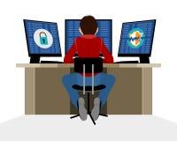 Informatiebeveiligingsdeskundige Stock Foto's