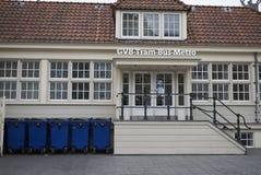 Informatiebureau voor de Post van Amsterdam Centraal stock foto