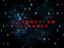 Informatieconcept: Informatie-uitwisseling  Royalty-vrije Stock Foto