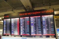 Informatieraad van de internationale luchthaven van Suvarnabhumi voor peop Stock Fotografie