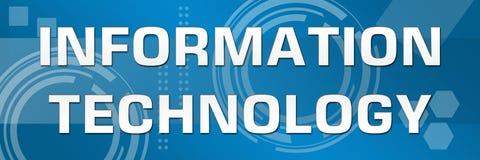Informatietechnologie Bedrijfsthemabanner Royalty-vrije Stock Afbeelding