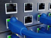 Informatietechnologie Computernetwerk stock foto