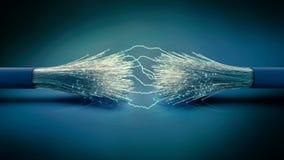 Informatietechnologie hoge snelheidsnetwerk royalty-vrije stock foto's