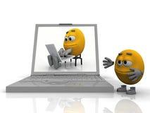 informating учит smiley бесплатная иллюстрация