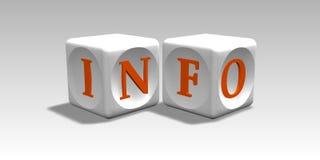 Information Photographie stock libre de droits