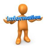 information Arkivbild