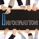 information Royaltyfri Foto