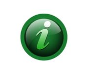 Information. Icon on isolated background Stock Image