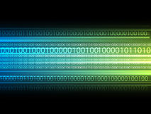 Information background. Abstract information background with binary code Stock Photo