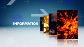 Information background stock footage