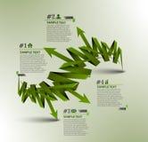 Information banner design element Stock Image